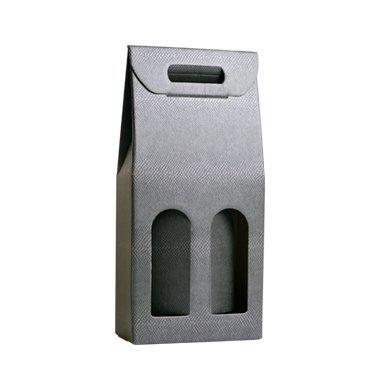 Scatola 2 flessen bruin (VKSCA21)