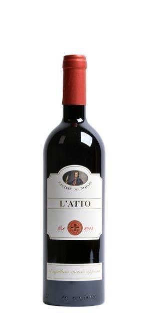 2018 Rosso Basilicata L'Atto (0,75L) - Cantine del Notaio