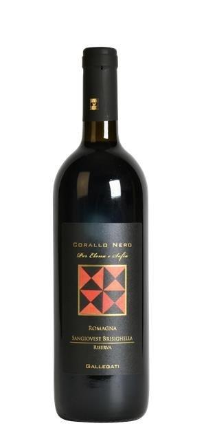 2012 Corallo Nero Sangiovese di Romagna (0,75L) - Gallegati