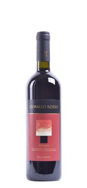 2015 Corallo Rosso Sangiovese di Romagna (0,75L) - Gallegati