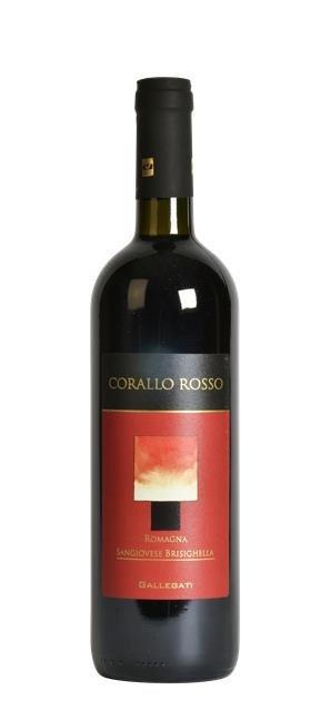 2017 Corallo Rosso Sangiovese di Romagna (0,75L) - Gallegati