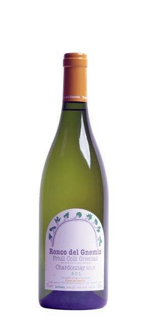 2018 Chardonnay Sol (0,75L) - Ronco del Gnemiz