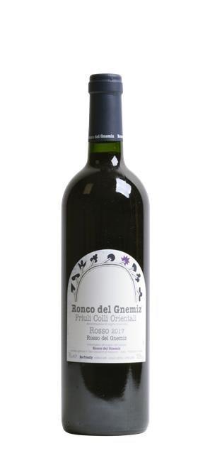 2017 Rosso del Gnemiz (0,75L) - Ronco del Gnemiz