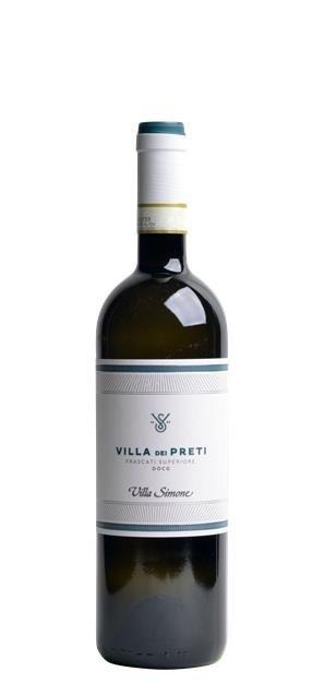 2019 Frascati Superiore Villa dei Preti (0,75L) - Villa Simone