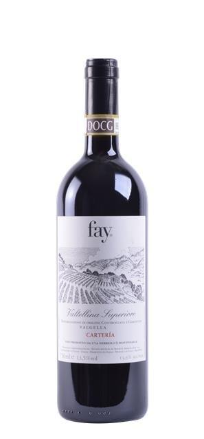 2014 Valtellina Superiore Riserva 'Carteria' (0,75L) - Sandro Fay