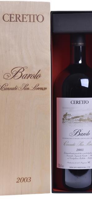 2009 Barolo Cannubi (1,5L) - Ceretto