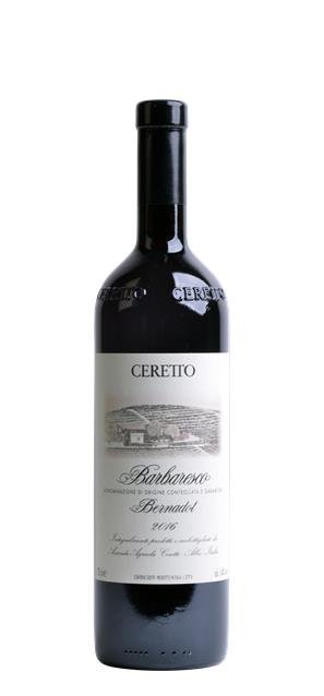 2016 Barbaresco Bernadot (0,75L) - Ceretto