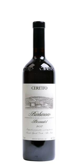 2017 Barbaresco Bernadot (0,75L) - Ceretto