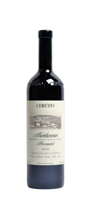2018 Barbaresco Bernadot (0,75L) - Ceretto