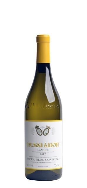 2017 Langhe Chardonnay Bussiador (0,75L) - Conterno Aldo