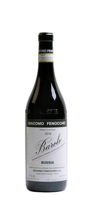 2016 Barolo Bussia (0,75L) - Giacomo Fenocchio