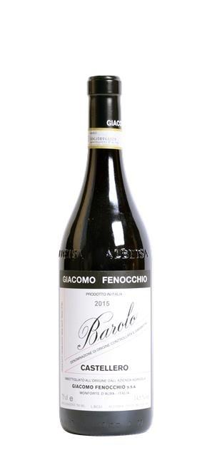 2015 Barolo Castellero (0,75L) - Giacomo Fenocchio
