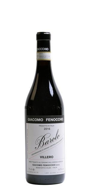 2016 Barolo Villero (0,75L) - Giacomo Fenocchio