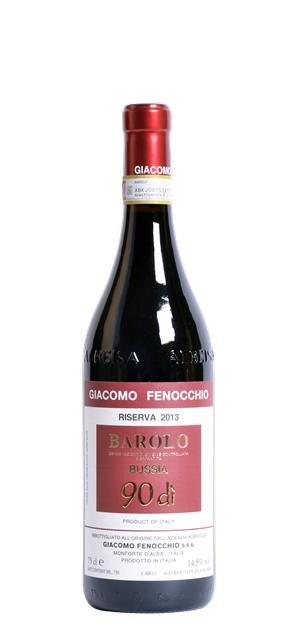 2013 Barolo Riserva 90dì Bussia (0,75L) - Giacomo Fenocchio