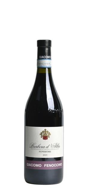 2019 Barbera d'Alba Superiore (0,75L) - Giacomo Fenocchio