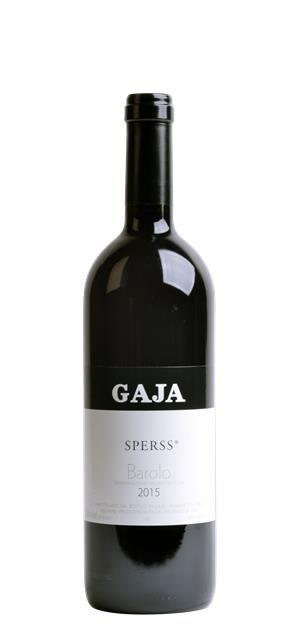 2015 Barolo Sperss (0,75L) - Gaja