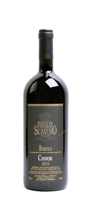 2015 Barolo Cannubi (1,5L) - Scavino Paolo
