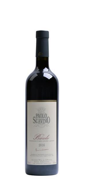 2016 Barolo (0,75L) - Scavino Paolo