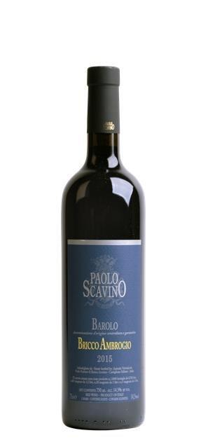2015 Barolo Bricco Ambrogio (0,75L) - Scavino Paolo
