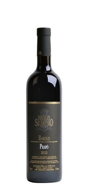 2015 Barolo Prapo (0,75L) - Scavino Paolo