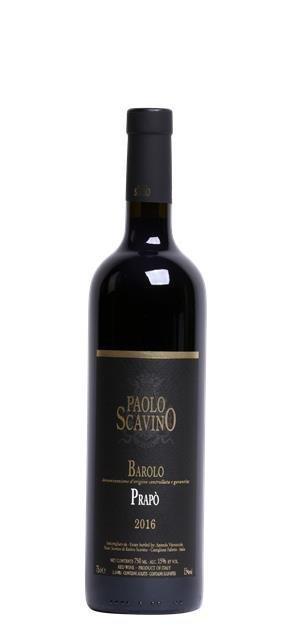2016 Barolo Prapo (0,75L) - Scavino Paolo