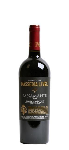 2018 Passamante Salice Salentino (0,75L) - Li Veli