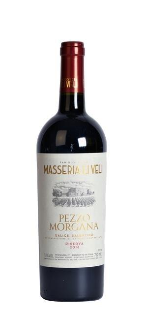 2016 Salice Salentino Pezzo Morgana (0,75L) - Li Veli