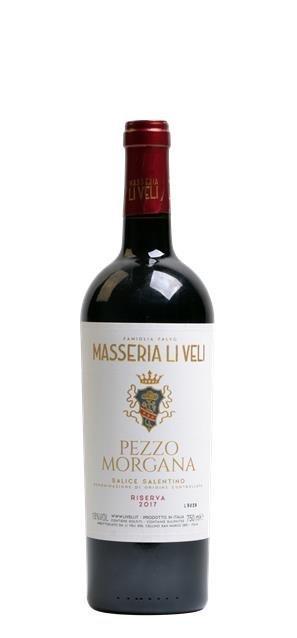 2017 Salice Salentino Pezzo Morgana (0,75L) - Li Veli
