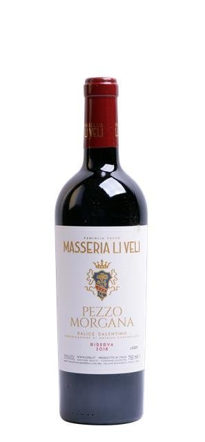 2018 Salice Salentino Riserva Pezzo Morgana (0,75L) - Li Veli