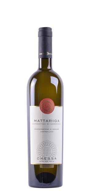 2017 'Mattariga' Vermentino di Sardegna (0,75L) - Chessa