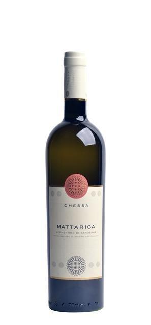 2019 Vermentino di Sardegna Mattariga (0,75L) - Chessa