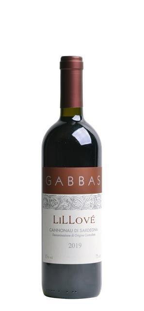 2019 Cannonau di Sardegna Lillové (0,75L) - Gabbas