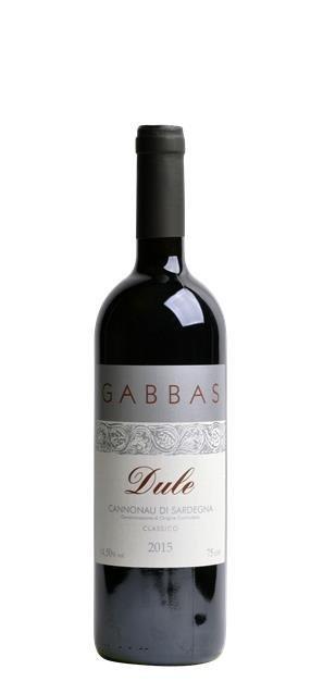 2015 Cannonau di Sardegna Riserva Dule (0,75L) - Gabbas