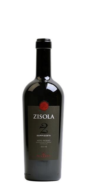 2016 Rosso Noto Doppio Zeta (0,75L) - Zisola