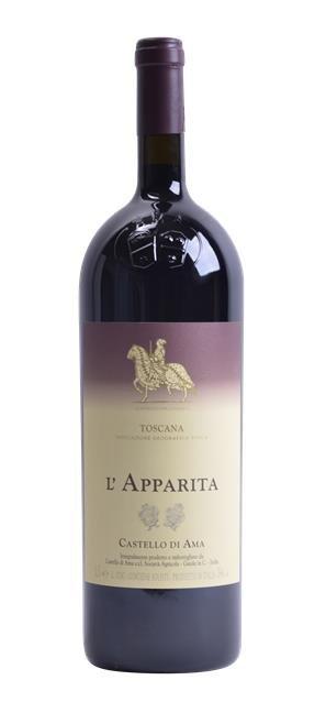 2011 L'Apparita (1,5L) - Castello di Ama
