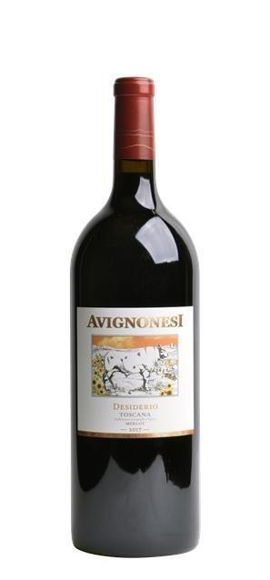 2017 Merlot Desiderio (1,5L) - Avignonesi