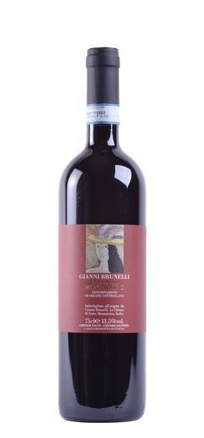 2015 Rosso di Montalcino (0,75L) - Gianni Brunelli - Le Chiuse di Sotto