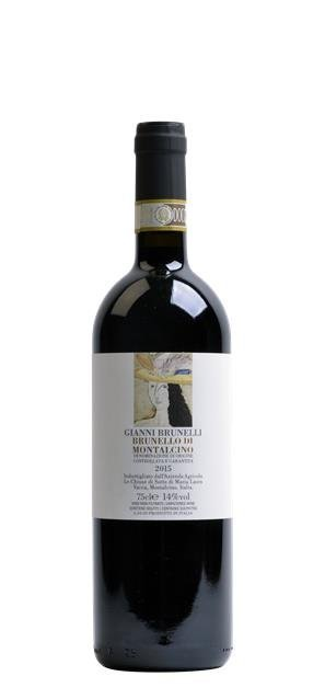 2015 Brunello di Montalcino (0,75L) - Gianni Brunelli - Le Chiuse di Sotto