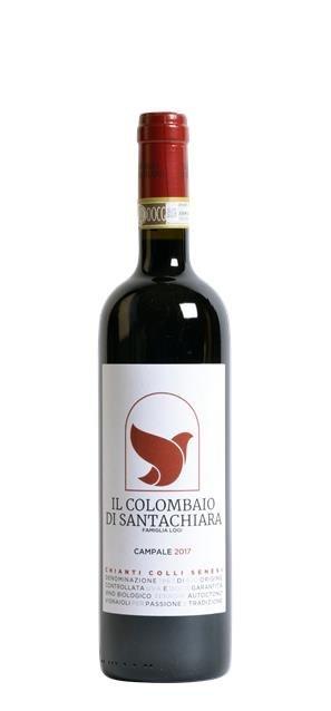 2017 Chianti Colli Senesi Campale (0,75L) - Il Colombaio di Santa Chiara
