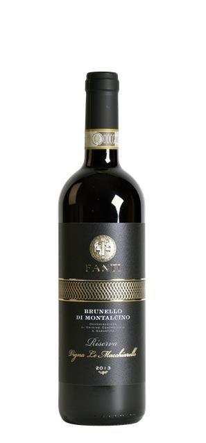 2013 Brunello di Montalcino Riserva Vigna Le Macchiarelle (0,75L) - Fanti