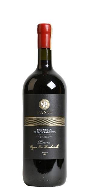 2013 Brunello di Montalcino Riserva Vigna Le Macchiarelle (1,5L) - Fanti