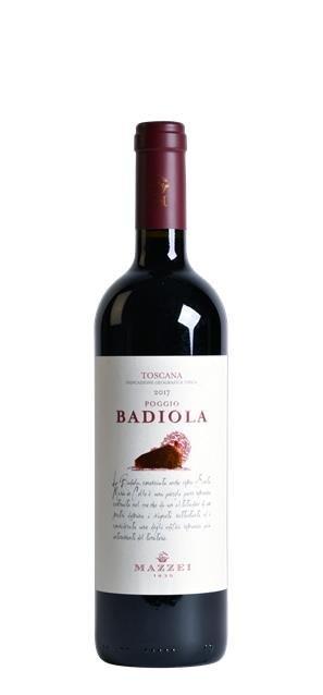 2017 Poggio Badiola (0,75L) - Castello di Fonterutoli