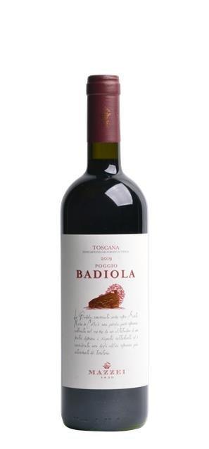 2019 Rosso Toscana Poggio Badiola (0,75L) - Castello di Fonterutoli