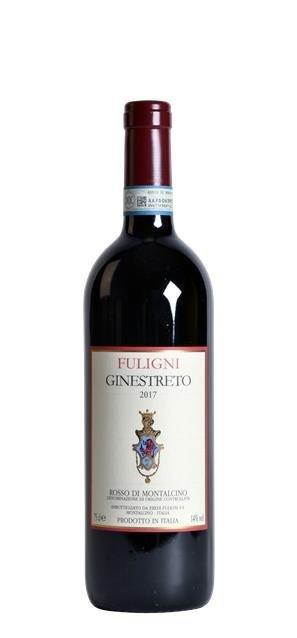 2017 Rosso di Montalcino 'Ginestreto' (0,75L) - Fuligni
