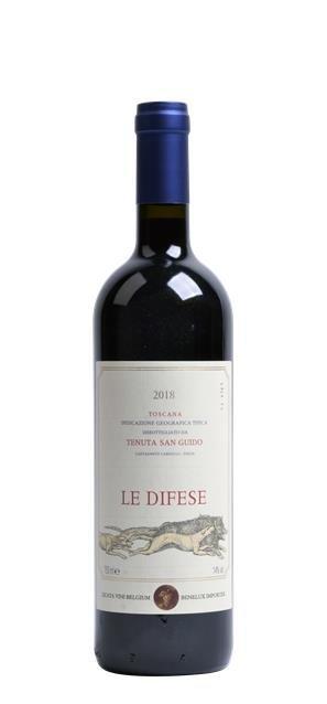 2018 Le Difese (0,75L) - Tenuta San Guido