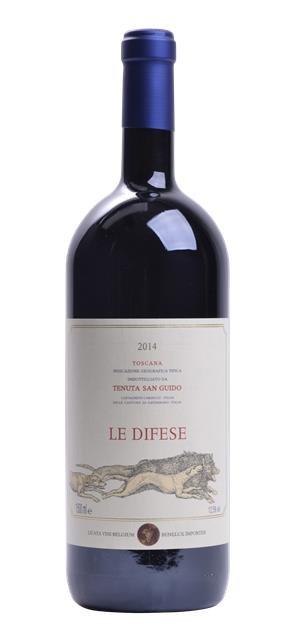 2014 Le Difese (1,5L) - Tenuta San Guido
