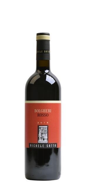 2018 Bolgheri Rosso (0,75L) - Satta Michele