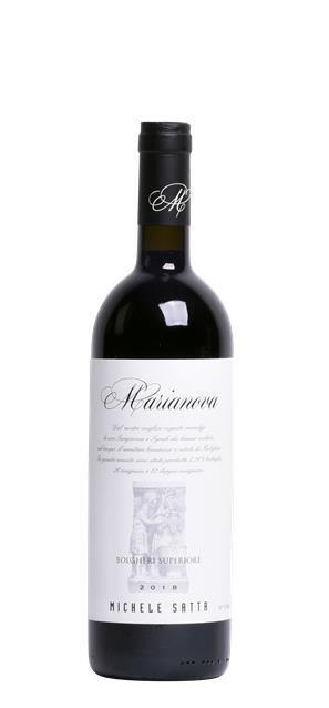 2016 Bolgheri Superiore Marianova (0,75L) - Satta Michele