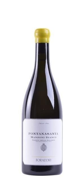 2016 Fontanasanta Manzoni Bianco (0,75L) - Foradori
