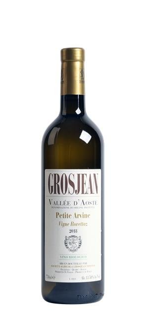 2018 Petite Arvine Vigne Rovettaz (0,75L) - Grosjean